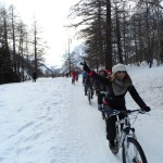 Snowbike in Val Ferret (1)