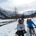 Snowbike in Val Ferret (2)