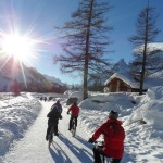 Snowbike in Val Ferret (3)